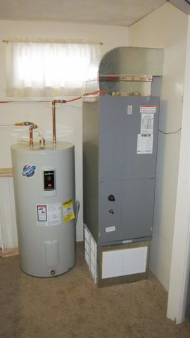 Hot Water Tank and furnace install - Beaufort Services